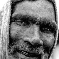 In yer face (your eyes never hurt me til now) Tags: face portrait man street streetphotography candid bnw lines nikkor asia homeless addict 5x5