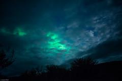 Cloudy Aurora - Iceland (Toine B.) Tags: cloud cloudy aurora northernlight aurore boreale sky blue iceland islande