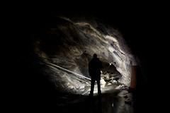 Underground selfie (Rødovre Jedi) Tags: selfie underground mining gruvspaning speleology urbanexploration urbex gruva trespassing abandoned industrialdecay