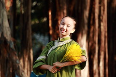 IMG_9271M 2017臺中花都藝術季 水花浪漫 舞動葫蘆墩圳開發傳奇 瓊瑢舞蹈團 (陳炯垣) Tags: performance stage dancer gril portrait traditional