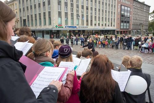 2015_Vabaduse Väljak kooride ühiskontsert