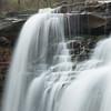 Veil of Brandywine Falls (TWK2011) Tags: chippawa creek river spring trees forest water brown rain rainy droplets cuyahoga valley national park waterfall gorge bridal veil