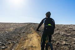 DSC04522 (Guðmundur Róbert) Tags: iceland moutain biking mtb bikes mountain hjól reiðhjól hjóla cycling mountains sky blue sony a7ii kit lens landscape intense cube 29er downhill uphill view island ísland black white