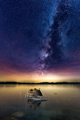 BONSAI!!!!!! (Aaron_Smith_Wolfe_Photography) Tags: bonsai laketahoe sierranevada composite milkyway stars lake nikon d810 20mm f18