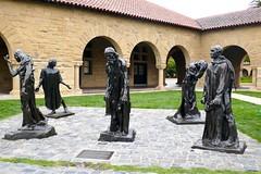 Six Burghers of Calais sculptures by Auguste Rodin, Main Quad, Stanford University (ali eminov) Tags: paloalto california universities stanforduniversity sculptors augusterodin sculptures sixburghersofcalais