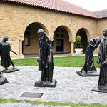 Six Burghers of Calais sculptures by Auguste Rodin, Main Quad, Stanford University thumbnail