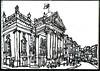 Theatre Royal, Grey Street, Newcastle upon Tyne (JamesHobbs) Tags: jameshobbs newcastle theatreroyal drawing sketchbook sketch