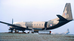 Kiwi Andover (ƒliçkrwåy) Tags: nz7623 hs andover transport rnzaf newzealand airforce brize norton kodachrome