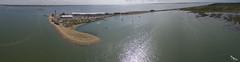 Calshot Spit (soaringviews) Tags: calshot southampton southamptondocks dji panorama pano phantom sea sand calshotcastle calshotspit