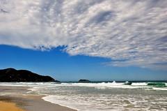 nos meus sonhos! bfds procê! (Ruby Ferreira ®) Tags: sand beach sky praiaoceânica céu cloudscape nuvens ondas waves oceanoatlântico