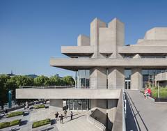 Royal National Theatre (Chimay Bleue) Tags: denys lasdun brutalist brutalism midcentury modern modernism modernist design architecture london england uk royal national theatre