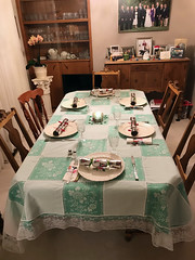 Xmas Dining Table 2 (daryl_mitchell) Tags: winter saskatchewan canada 2017 xmas regina dining table