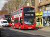 SLN 13022 - BG14ONT - BEXLEYHEATH BROADWAY - FRI 23RD MAR 2018 (Bexleybus) Tags: bexleyheath broadway shopping centre kent da7 tfl route 96 stagecoach london hybrid wrightbus gemini volvo 13022 bg14ont