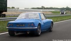 Matra 530A 1970 (XBXG) Tags: 6696js matra 530a 1970 matra530a matrasports m530a targa bleu blue a4 dinteloord steenbergen nederland holland netherlands paysbas vintage old classic french car auto automobile voiture ancienne française vehicle outdoor