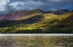 Crag Hill and Causey Pike (snowyturner) Tags: derwentfells cumbria lakedistrict reflections patterns ripples clouds hills buttermere pike fell crag