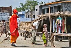 Banks of the Ghat (Ellsasha) Tags: india northernindia ganges holyman cremation ghat ngc