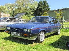 Ford Capri 2.8 Injection Special D800UHC (Andrew 2.8i) Tags: evesham show meet club international cci sports sportscar classic classics car cars capri ford v6 cologne hot hatch hatchback coupe 2800 special injection 28 mark 3 mk mk3