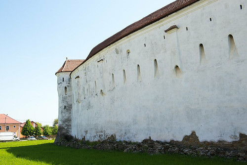 Prejmer. Wall of church ©  Andrey
