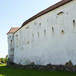 Prejmer. Wall of church thumbnail