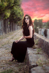 Time Is Always Painting (FlorianPascual) Tags: ifttt 500px florian pascual red portrait girl beauty sunset mask light twilight summer beautiful glamour female pretty white model green face france hair young sundown natural portraiture montpellier naturallight florianpascual