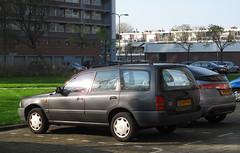 1993 Nissan Sunny Wagon 1.6 LX (rvandermaar) Tags: 1993 nissan sunny wagon 16 lx ad resort nissansunny nissanad sidecode5 gvfp90 y10 n14 rvdm