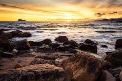 139/2018 (Salva Mira) Tags: cala cove benidorm almadrava illa isla sunset sundown mar sea salvamira salva salvadormira