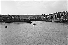 Whitby Dock Monochrome (brianarchie65) Tags: whitby whitbychurch whitbypier fishermen fishingboats fishing sands pier piers lighthouse lighthouses harbour sea cliffs unlimitedphotos monochrome blackandwhite blackandwhitephotos blackandwhitephoto blackandwhitephotography flickrunofficial flickruk flickr flickrcentral ukflickr geotagged canoneos600d brianarchie65 northyorkshire yorkshirecoast yorkshire