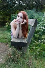 Richmond (rebeccaspins) Tags: richmond park summer shoot model photoshoot vintage redhead