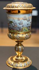 Michiel de Ruyter's goblet   Nicolaes Loockemans   1667   The Rijksmuseum-50 (Paul Dykes) Tags: rijksmuseum museumofthenetherlands art gallery museum amsterdam netherlands nl holland