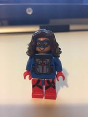 DC's Atomica (Numbuh1Nerd) Tags: lego purist custom superheroes minifigures supervillains crime syndicate justice league new 52 america