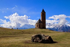 A curch in south-tyrol (flomophotography) Tags: photography beautiful day sky blue church tyrol ftography