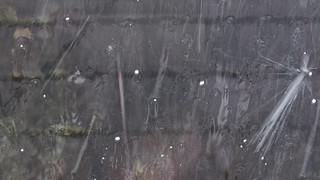 hail on skylight 1