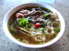 Pho Dac Biet at Pho Boi (knightbefore_99) Tags: vietnam vietnamese pho phoboi soup lunch work kingsway vancouver bc phodacbiet noodles tripe meat beef broth art sprouts basil