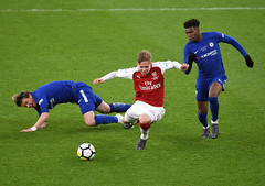 Arsenal v Chelsea - FA Youth Cup Semi-Final: Second Leg (Stuart MacFarlane) Tags: sport soccer clubsoccer u18sportscompetition london england unitedkingdom gbr
