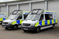 Police Scotland Mercedes Sprinter Public Order Vans (PFB-999) Tags: police scotland ps mercedes sprinter public order van vehicle unit riot pov psu support modules grilles fendoffs sidelights leds sf64kkr sf64 klk