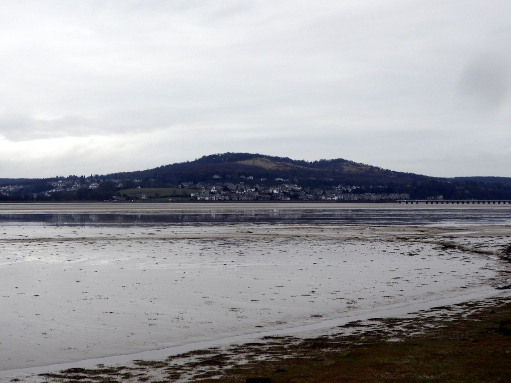 Arnside from across the River Kent