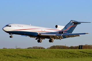 USA Jet 727 landing at Cleveland