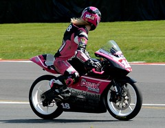 Jodie Fieldhouse GO PINK RACING BSB Championships Oulton Park May 6Th 2018 (mrd1xjr) Tags: jodie fieldhouse go pink racing bsb championships oulton park may 6th 2018