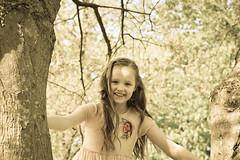 Hayley on a Tree