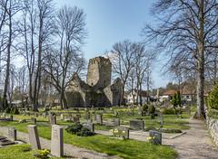 St. Olof's Church Ruins, Sigtuna, Sweden (PriscillaBurcher) Tags: stolof'schurch sanktolofskyrkoruin kyrka sigtuna sweden church l1290474