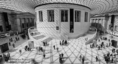 British Museum - Great Courtyard (Christian Beasley) Tags: britishmuseum london bw