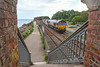 Tanking it. (Teignstu) Tags: dawlishwarren devon railway bridge ews class66 66112 claytanks 6c53