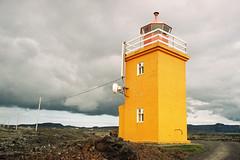 Iceland Adventures ! (Hëllø i'm Wild) Tags: analog film 35mm canonae1 kodakgold200 iceland travel trip nature icelandadventures hike outdoor adventures hópsnesviti lighthouse