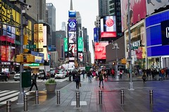 44th & Broadway in Color (Jetz37) Tags: distagon352zf zeiss nikon newyorkcity manhattan timessquare
