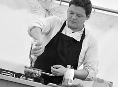 Scarborough Food & Drink Festival 2018 - Cyrus Kay (Tony Worrall) Tags: scarborough food drink festival 2018 cyrus jay winner bbc britains best home cook yorkshire make chef demo show event fun man cooking dish dishes menu plate plated made ingrediants nice flavour foodophile x yummy tasted meal nutritional freshtaste foodstuff cuisine