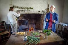 People of Colonial Williamsburg:  The cooks (larry wfu) Tags: peopleofcolonialwilliamsburg williamsburg colonial virginia