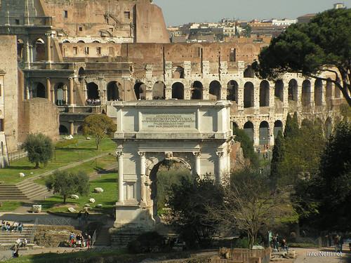 Римський форум, Рим, Італія InterNetri Italy 473