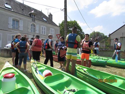 Sortie Canoe - 20 mai 2018