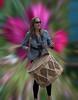 Drummer Lady (Scott 97006) Tags: woman bokeh drum drummer sticks musician shades