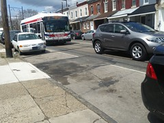 2017-2018 Septa New Flyer XDE40 Xcelsior at 49th street (NeoplanDan) Tags: septa trains rail transit bus new flyer d40lf
